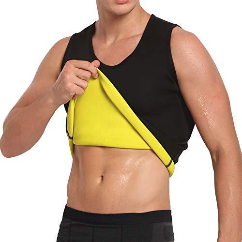 711d39afed Cimkiz Sauna Vest for Man Neoprene Sweat Vest Weight Lose Sweat Tank top Fat  Burner Vest Thermo Vest no Zip XXL